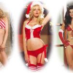 Lencería erotica para Navidad