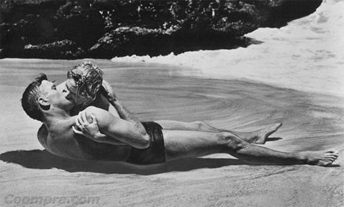 Burt Lancaster y Deborah Kerr