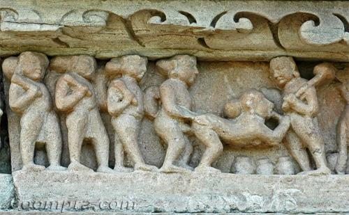 Escultura de Khajuraho - Chitragupta