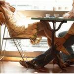 Juego de seducción: caricias bajo la mesa