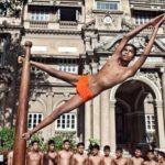 Pole dance hindú, Mallakhamb