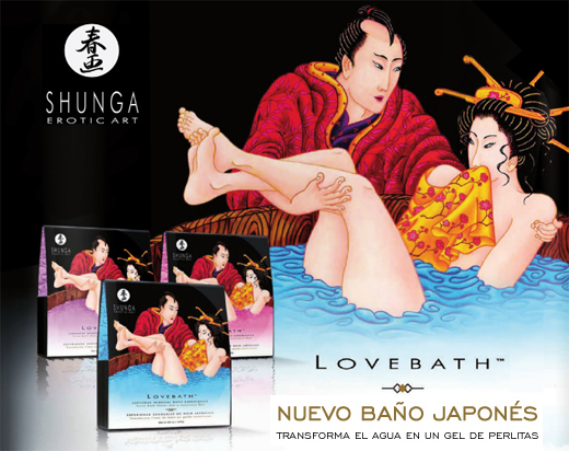 shunga love bath